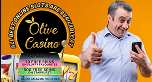 All Best Online Slots Are Available At Olive Casino