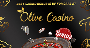 Best Casino Bonus is up for grab at Olive Casino