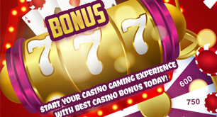 Start Your Casino Gaming Experience With Best Casino Bonus Today!